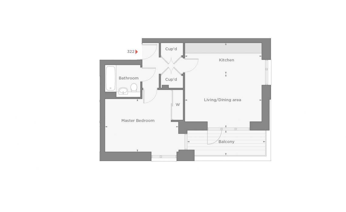 floorplan/Harbour/322