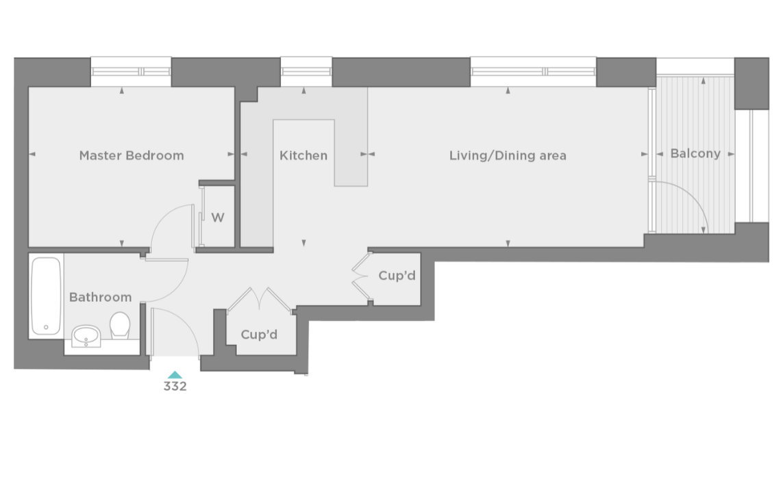 floorplan/Spinnaker/332