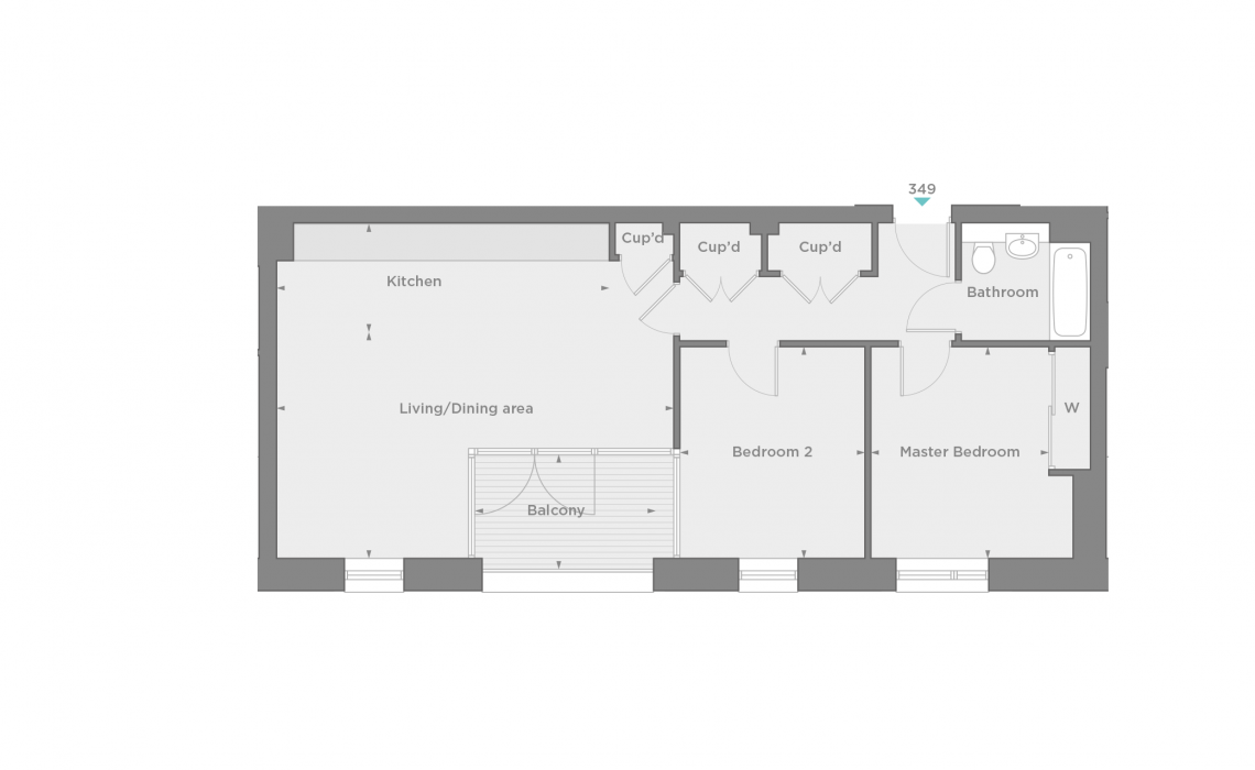 floorplan/Spinnaker/349