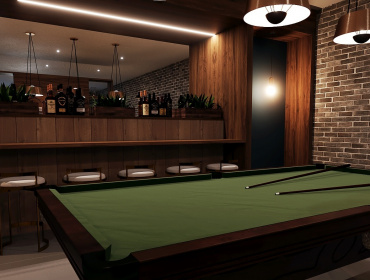Indicative imagery of the residents Games Room