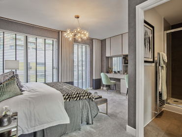 Townhouse Master Bedroom